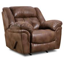 simmons leather recliner. simmons upholstery wisconsin beautyrest recliner - chocolate | hayneedle leather e