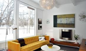 Image Yellow Wall Modern Yellow Sofa Homedit How To Design With And Around Yellow Living Room Sofa