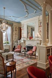Chandelier lighting for the Victorian living room [Design: john milner  architects]