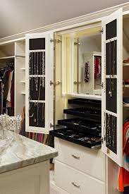 jewelry storage ideas with wooden hanging closet organizers closet traditional and slide out trays