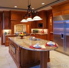 Laminate can be manufactured to look and feel a lot like granite for  countertops.