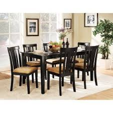 7 piece black dining room set. Homelegance Tibalt 7 Piece Rectangle Black Dining Table Set - 60 In. With 6 Slat Back Chairs HME2080   Products, Tables And Room S