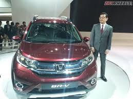 new car launches zigwheels2016 Auto Expo Honda BRV compact SUV unveiled  ZigWheels