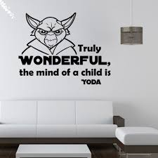 star wars characters diy art decor mural room decal home furnishing art wall decals