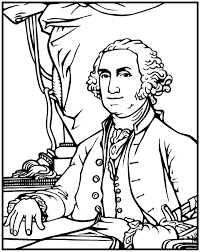 Small Picture George Washington Coloring Page Purple Kitty