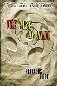 the rise of nine official book cover jpg author pittacus lore country united states