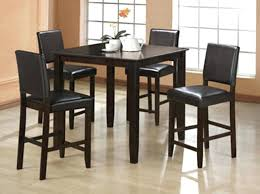 high kitchen table set. Tall Dining Table High Room Chairs With Exemplary Of Goodly . Kitchen Set