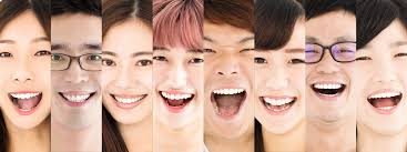 Differences and similarities in asian people