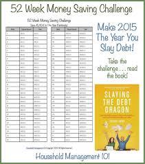 52 Week Money Saving Challenge Chart Printable Www