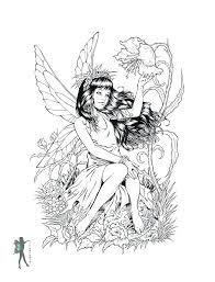 Fairy Coloring Sheets Adult Fairy Coloring Pages Fairy Tale Coloring