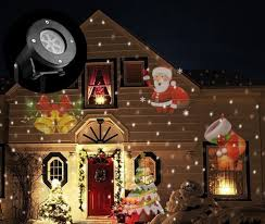House Flood Lights Christmas Us 15 18 35 Off Christmas Laser Projector Snowman Ip44 Christmas Decorations For Home Indoor Outdoor Dj Disco Light Party Lights Stage Light In