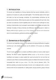 principles of tourism hospitality events individual essay  principles of tourism hospitality events individual essay