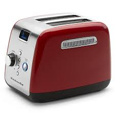 kitchenaid artisan series 2 slice toaster empire red