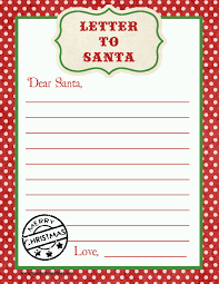 Letter To Father Christmas Template For Word Fresh Letter To Santa