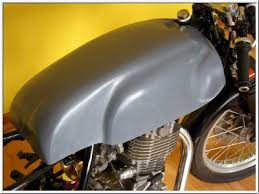 royal enfield converted into a cafe