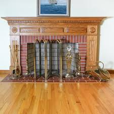 brass fireplace screens brass fireplace screens tools andirons and wood holder painting brass fireplace screen black
