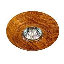 Встраиваемый <b>светильник Novotech 370088</b>, коричневый