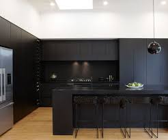 We love these black cabinets! Re-create this gorgeous matte kitchen look  with FENIX
