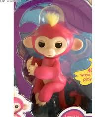 Fingerlings Baby Monkey Bella.Jual WOWWEE Fingerlings Baby Monkeys ...