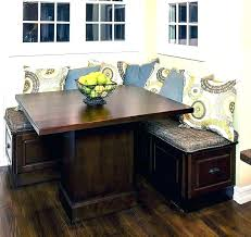 booth table for kitchen corner booth style kitchen table sets