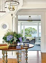 entry hall table round entry hall table stunning beach style with white walls flush home design entry hall table