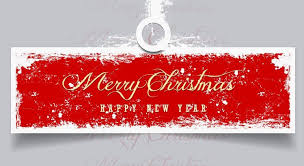 merry christmas and happy new year banner. Simple Happy Retro Merry Christmas U0026 Happy NEW Year Vector Banner And New
