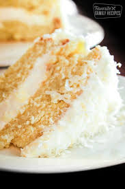 Coconut Cream Cake With Coconut Frosting Favorite Family Recipes
