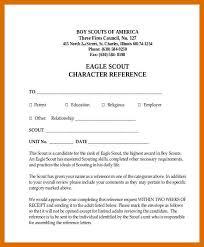 5 6 Eagle Letter Of Recommendation Sample Formatmemo