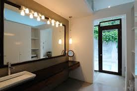 bathroom track lighting over vanity