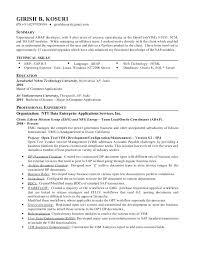 Crm Resume Sample Best of Sap Crm Resume Samples And Sap E Recruitment Sample Resumes K Email