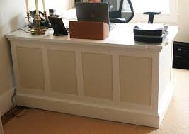 small office reception table