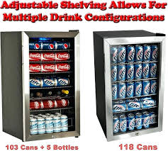 glass door beverage refrigerator glass door adjule shelf can bottle beverage refrigerator used glass door beverage