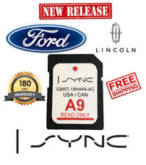 A9 Card Ford Lincoln A9 Sync Sd Map Card Navigation Latest 2018 Us Canada