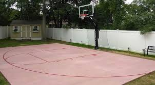 basketball court painting