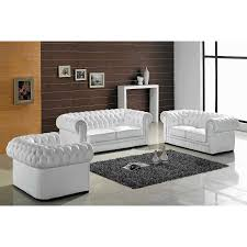 Elegant Classic Living Room Furniture Design Ideas Featuring White Fabric  Italian Sectional Sofa Set Using Ruched Arm Style And Padded Pillow Seat  Cushion ...