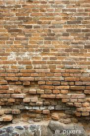 old brick wall vinyl wall mural monuments
