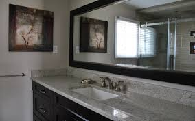 white bathroom cabinets with granite. Gray Granite Countertops Ideas White Bathroom Cabinets With