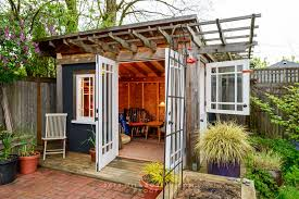 Fabulous Backyard Cottage Ideas Stylish Urban Garden Sheds Home Amp Real  Estate Seattle Met