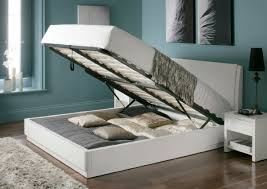 white double bed with storage aden high gloss ottoman storage bed white wiwymrv