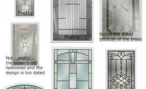 exterior door window insert kitdoor amazing exterior door glass inserts front doors for homes