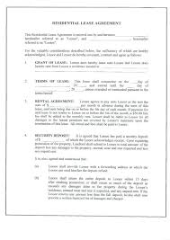 Free Printable Lease Agreement For Renting A House | Cvfree.pro