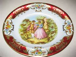 Daher Decorated Ware Tray Made In England Unique Vintage Round Daher Decorated Ware Tin Litho By Tin Tray Daher