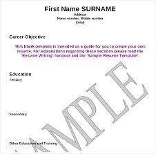 sample resume writing 12 resume writing template free sample example format download