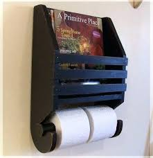 Toilet Roll Holder Magazine Rack Interesting Toliet Paper Rack Toilet Paper Roll Holder With Magazine Rack