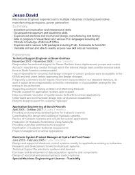 Mechanical Engineer Resume Mechanical Engineering Student Resume