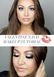 valentine s day makeup tutorial