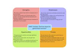 Swot Analysis Example Examples Of Swot Analysis Swot Government Contract Example 24 5