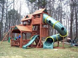 backyard playset plans playground cool concept of easy designs swing set design ideas backyard playset plans
