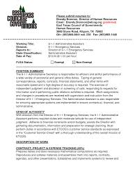 Cover Letter Executive Assistant Sample Resumes Medical