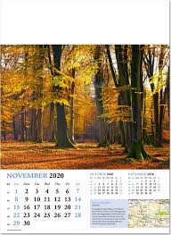 November 2020 Calendar Landscape Beautiful Britain Wall Calendar 2020 Rose Calendars